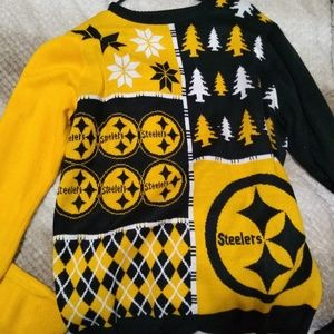 Steelers ugly sweater large